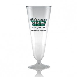 12 oz Plastic Pilsner Beer Glasses