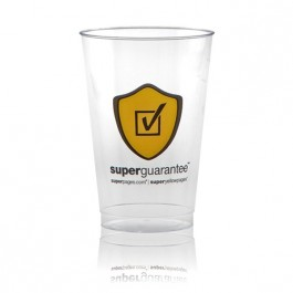 14 oz Clear Plastic Cup Printed