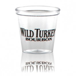 1 oz Clear Plastic Shot Glass Custom