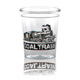 2 oz Clear Plastic Shot Glass Personalized