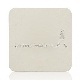 "40 PT. 3.5"" Debossed Square Drink Coasters"