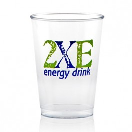 7 oz Clear Plastic Cup Printed