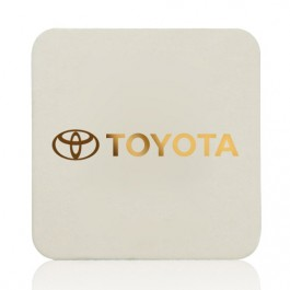 80PT 3.5-in Square Drink Coaster Personalized