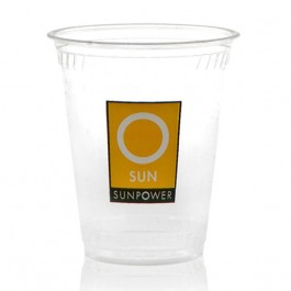 7 oz Greenware Clear Plastic Cup Custom
