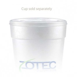 24 oz Straw Slot Frosted Cup Lid