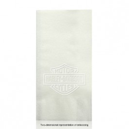 Almost Linen Embossed White Guest Hand Towels