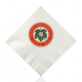 White Cocktail Napkins