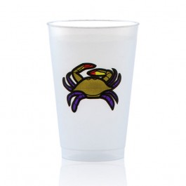 14 oz Frost Flex Plastic Cup Personalized