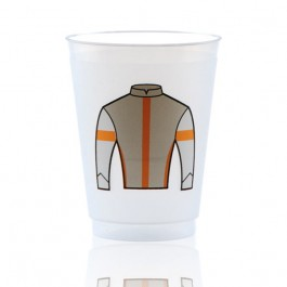 16 oz Frost Flex Plastic Cup Personalized