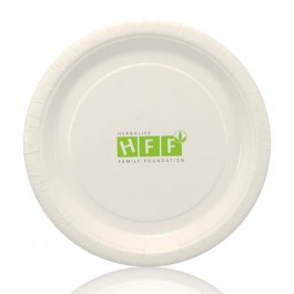 7-inch White Coated Paper Plate Personalized