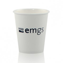 6 oz White Paper Cup Imprinted