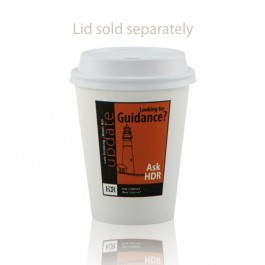 8 oz White Paper Cup Personalized