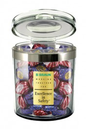 24 oz. Circle Apothecary Candy Jars Personalized