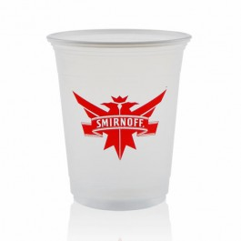12 oz Soft Frosted Plastic Cups