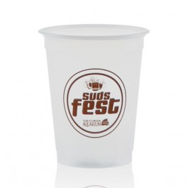 5 oz Soft Frosted Plastic Cup Promotional
