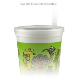 16/22 oz Molded Natural Cup Lid
