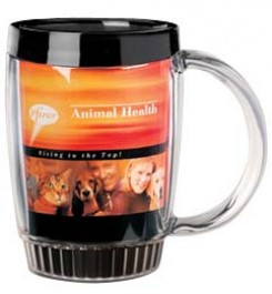 14 oz. Thermal Insulated Coffee Mugs