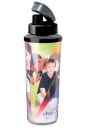 20 oz. Thermal Sport Wrapper Water Bottles w/ Logo