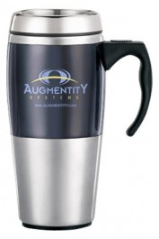 16 oz. Contour Stainless Steel Travel Mugs