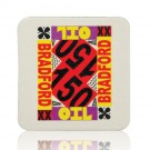 60PT 3.5-in Square Drink Coaster Custom
