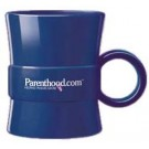 14 oz. Loop Plastic Coffee Mugs Custom