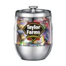 14 oz. Acrylic Steel Apothecary Candy Jars
