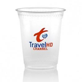 12 oz Greenware Clear Plastic Cups