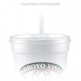 16/20 oz Straw Slot Frosted Cup Lids