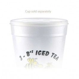 32 oz Straw Slot Frosted Cup Lids