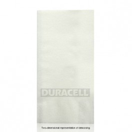 Almost Linen Debossed White Guest Hand Towels