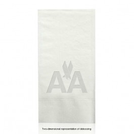 Debossed White Guest Hand Towels