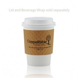 12 oz White Paper Cups