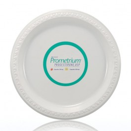 "9"" White Plastic Dinner Plates"