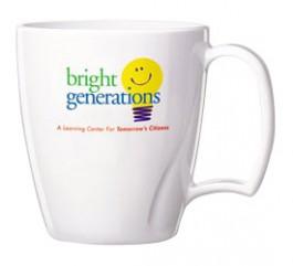 14 oz. Arrondi Plastic Coffee Mugs