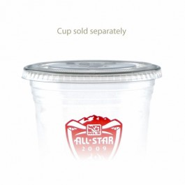 16/20/24 oz  Straw Slot Clear Cup Lids