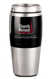 16 oz. Dynamo Stainless Steel Travel Tumblers
