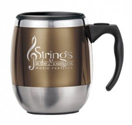 14 oz. Office Stainless Steel Travel Mugs